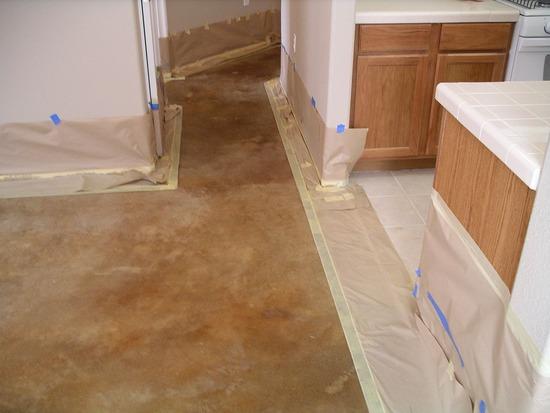 acid stain concrete floors in miami