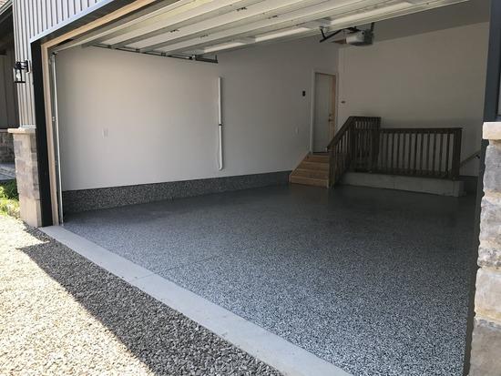 epoxy garage floor in Miami