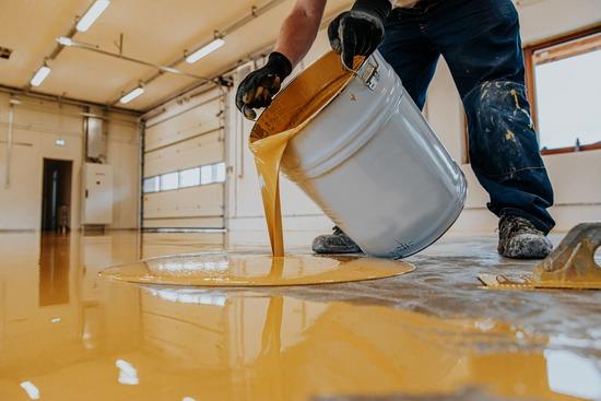 garage floor epoxy in Miami